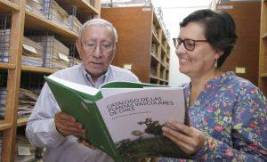 Los botánicos Dr. Roberto Rodriguez y MSc Alicia Marticorena